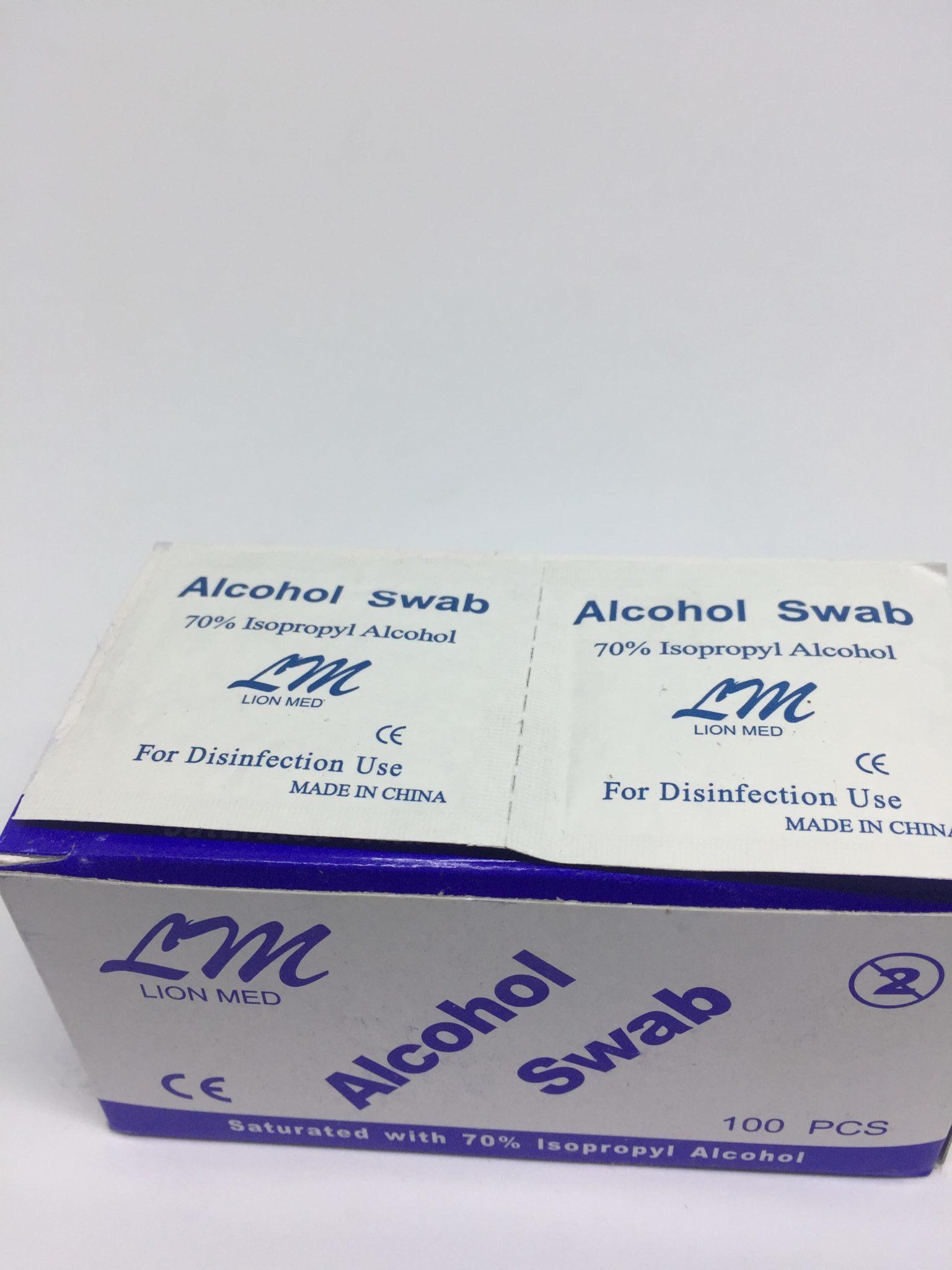 Alcohol swab in Lagos, Nigeria