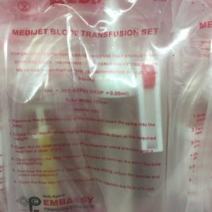 Blood Transfusion Set now available in Nigeria. Place your order now.