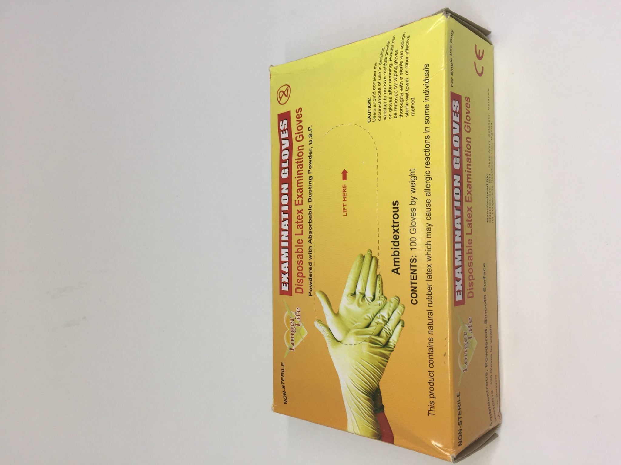 Disposable Latex Examination Gloves now available in Nigeria. Place your order on Clinicaid.com.ng now.