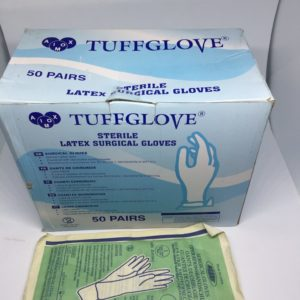 Sterile Latex Surgical Gloves now available in Nigeria. Place your order on Clinicaid.com.ng now.