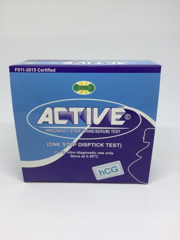 Pregnancy Strip Test now available in Nigeria. Place your order on Clinicaid.com.ng now.