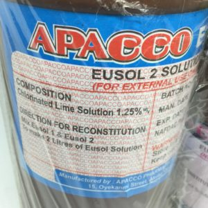 Eusol Solution now available in Nigeria. Place your order on Clinicaid.com.ng now.