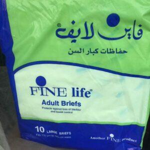 Fine life adult briefs