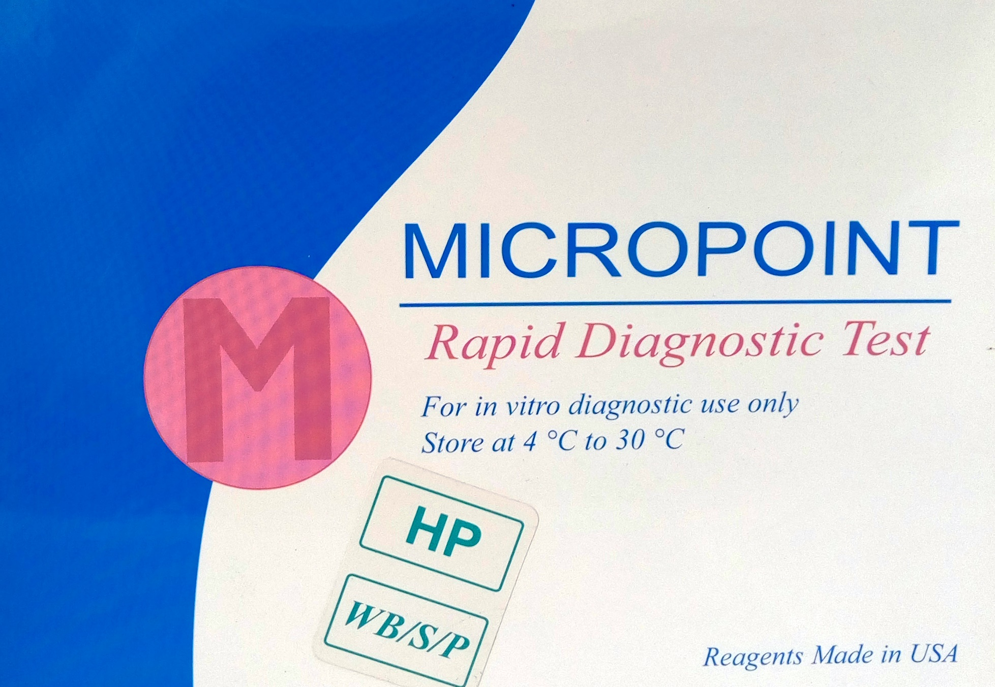 RAPID DIAGNOSTIC TEST KIT HELICOBACTER PYLORI 6 Clinicaid.com.ng