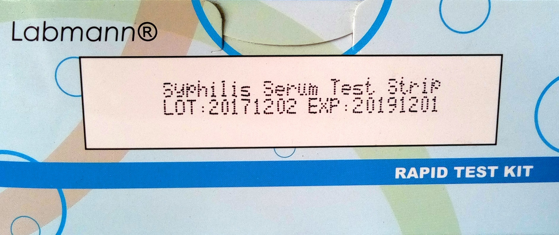 RAPID DIAGNOSTIC TEST KIT SYPHILIS 5 Clinicaid.com.ng
