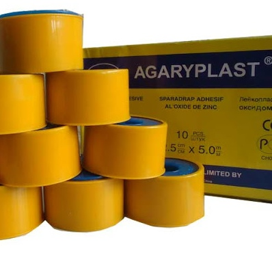 PLASTER ROLLS (1 INCHES PK OF 10 PIECES) 8 Clinicaid.com.ng