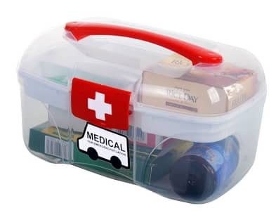 Portable drug box