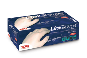 POWDER FREE GLOVES PIECE 10 Clinicaid.com.ng