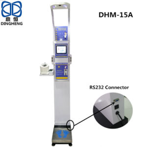 DIGITAL HEIGHT AND WEIGHT BLOOD PRESSURE MEASURE A 6 Clinicaid.com.ng