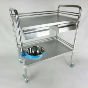 Instrument Trolley with Cabinet 11 Clinicaid.com.ng