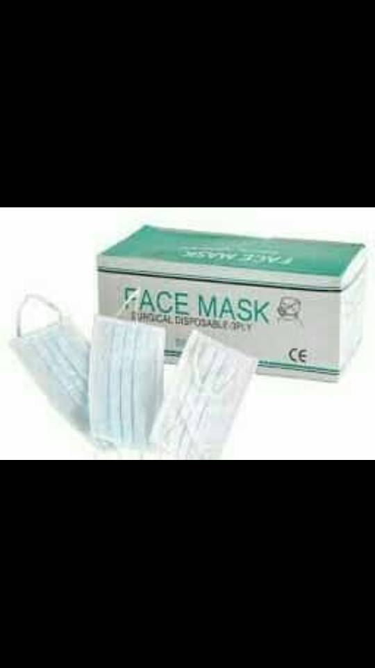 Face Mask (Pack) 1 Clinicaid.com.ng