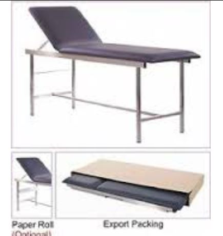 Examination Couch (adjustable backrest, Knockdown for easy transport) 1 Clinicaid.com.ng