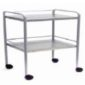 Dressing Trolley (2 stainless steel shelves) 5 Clinicaid.com.ng