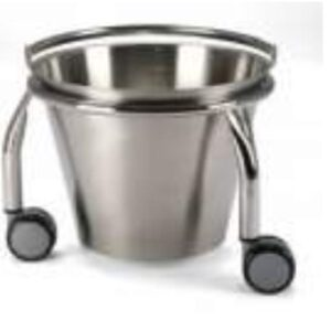Kick About Bucket (stainless steel) 1 Clinicaid.com.ng