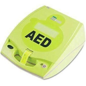 Defibrillator with external paddles