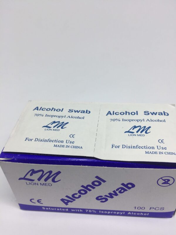 Alcohol Swab 2 Clinicaid.com.ng