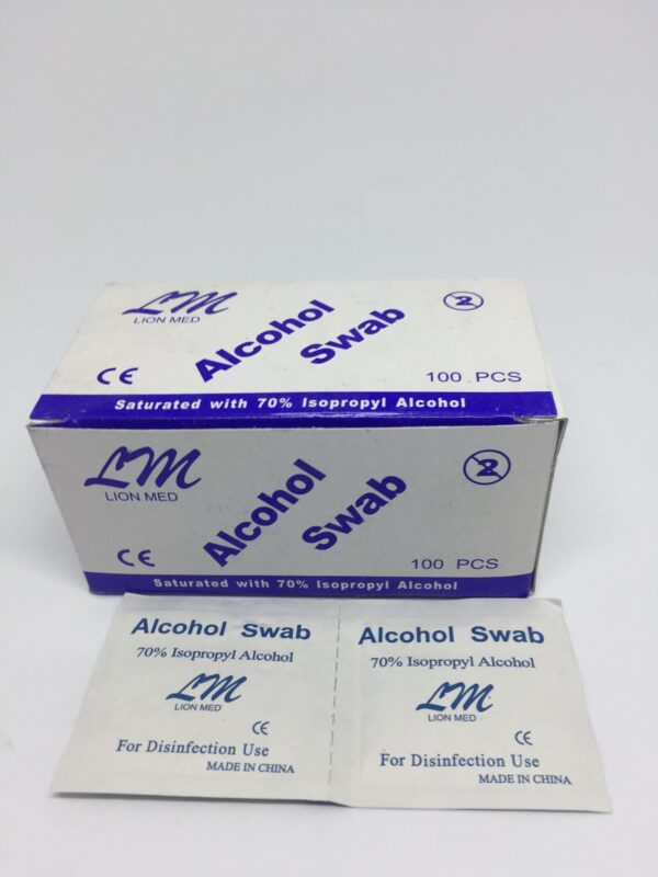 Alcohol Swab 1 Clinicaid.com.ng