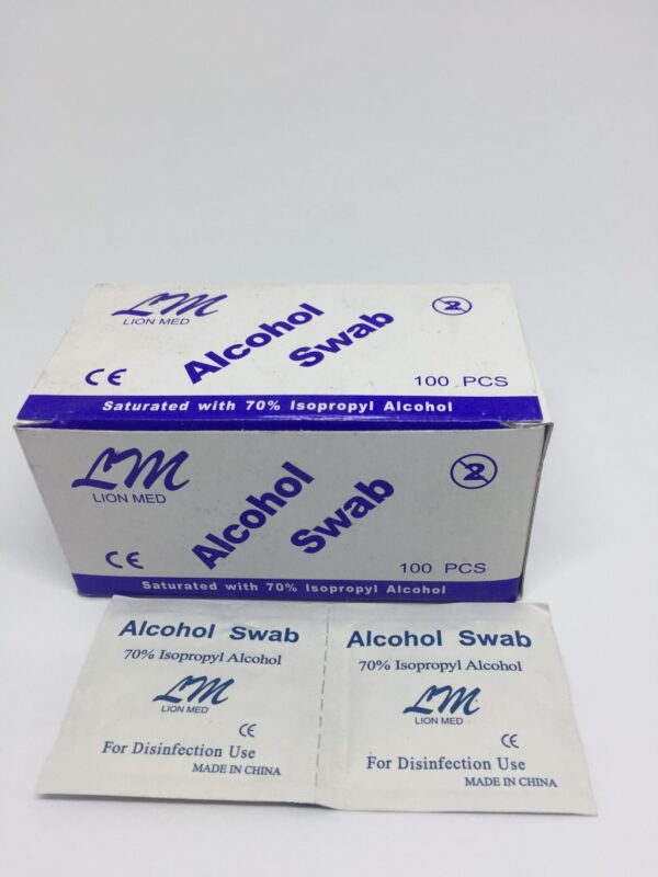 Alcohol Swab 7 Clinicaid.com.ng