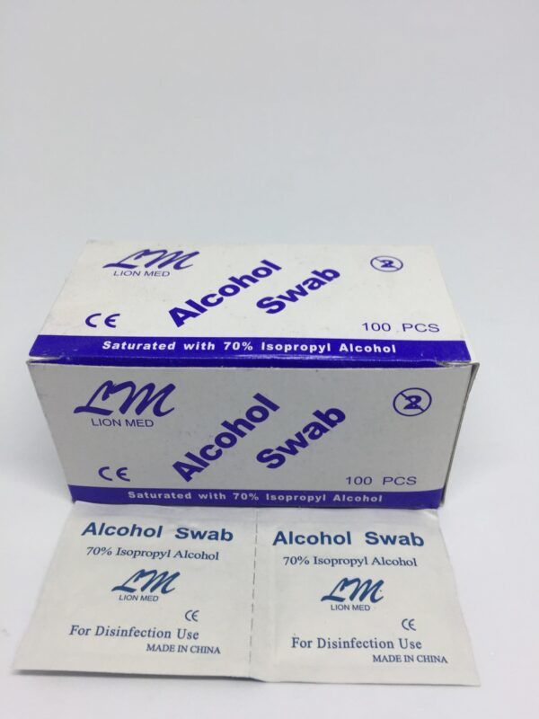 Alcohol Swab 5 Clinicaid.com.ng