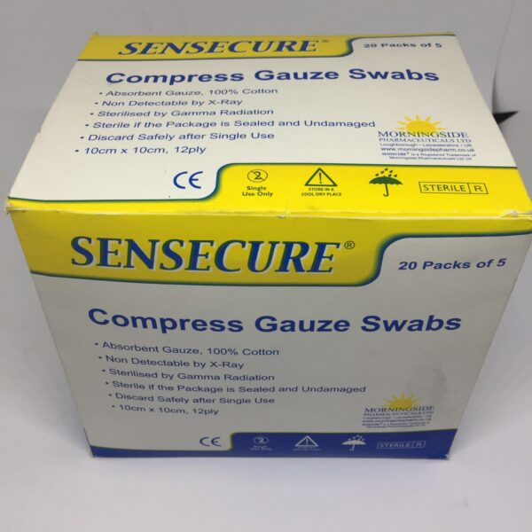 Compress Gauze Swabs 2 Clinicaid.com.ng