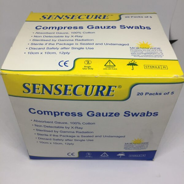 Compress Gauze Swabs 3 Clinicaid.com.ng