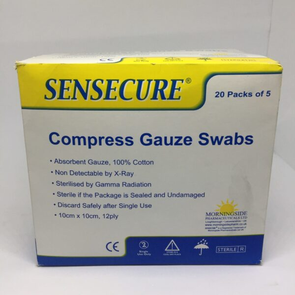 Compress Gauze Swabs 4 Clinicaid.com.ng