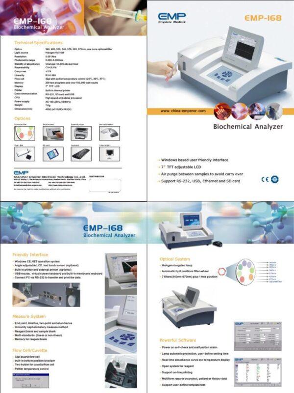 EMPSUN Semi-auto Chemistry Analyzer